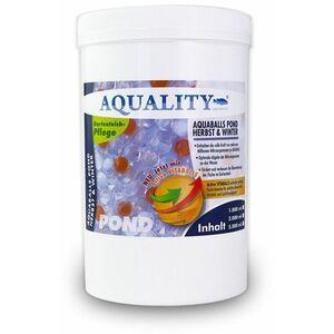 Gartenteich AQUABALLS Herbst & Winter (Lebensnotwendigen Mikroorganismen - Optimale Abgabe bis zu 4 Wochen - Perfekt überwintern) 2 Liter - Aquality