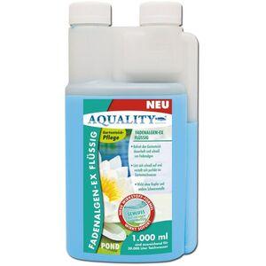 Gartenteich Fadenalgen-EX Flüssig (GRATIS Lieferung in DE - Flüssiger Fadenalgenvernichter, Algenmittel, Algenentferner. Löst Sich schnell im Teich