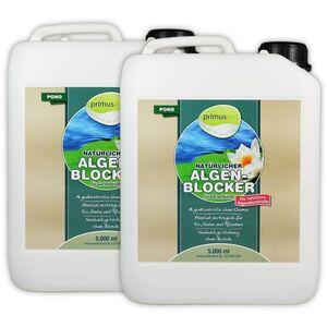 primuspet Natürlicher Algen-Blocker POND (Algenkontrolle ohne Chemie. Wirkt auf natürliche Weise zur Verringerung von Algen im Gartenteich) 10.000 ml