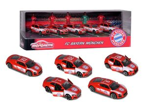 Dickie Spielzeug MAJORETTE FC BAYERN CARS GESCHENKSET (5 TEILIG) - Spielwaren