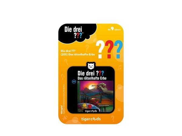 Tiger Media Deutschland GmbH tigercard - Die drei ??? (205): Rätselhaftes Erbe - Zubehör Konsolen