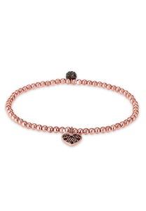 Elli Armband Herz Symbol Kristalle 925 Silber
