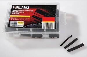 Kraft Werkzeuge Schrumpfschlauch-Sortiment 70-tlg.
