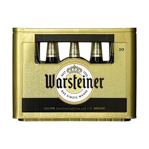 Warsteiner Pils, Alkoholfrei oder Herb 20 x 0,5/24 x 0,33 Liter, jeder Kasten (+ 3,10/3,42 Pfand)