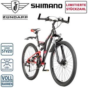 Mountainbike Blue 5.0 26er oder 28er • Shimano Drehgriffschalter • Scheibenbremsen • Rahmenhöhe: 47 cm (26er) 48 cm (28er), Preis für vormontierte Räder