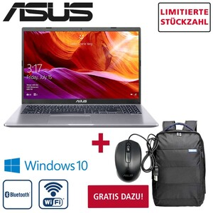 Notebook D509BA-EJ248T • entspiegeltes FHD-Display • AMD A9-9425 Prozessor (bis zu 3,7 GHz) + • AMD RadeonTM R5 Graphics (integrierte Grafik) • Webcam, Micro, Lautsprecher, Bildschirmdiago