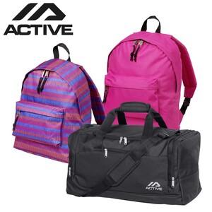 Sporttasche Maße: 57 x 28 x 28 cm 15,00 €, Rucksack versch. Farben, Maße: 42 x 30 x 12 cm, je