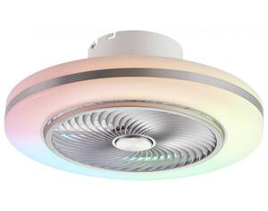 Pocoline LED-Deckenleuchte mit Ventilator, Farbwechsel & Fernbedienung Rainbow C12602PO