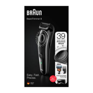BRAUN     Beard Trimmer BT 3242
