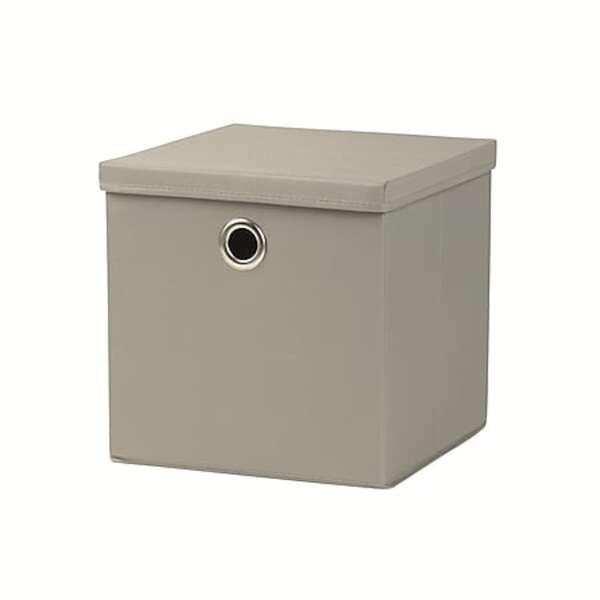 Dekor Aufbewahrungsbox - versch. Farben - grau