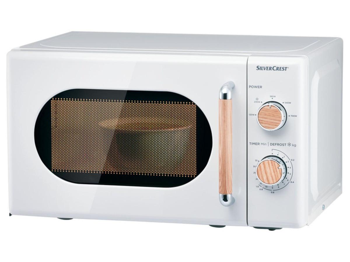 Bild 1 von SILVERCREST® Silvercrest Mikrowelle, 700 Watt, mit 5 Leistungsstufen