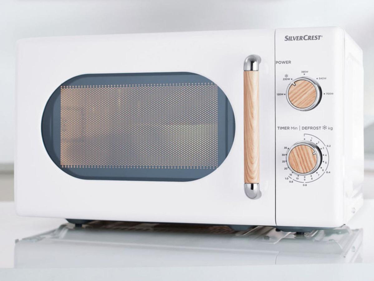 Bild 2 von SILVERCREST® Silvercrest Mikrowelle, 700 Watt, mit 5 Leistungsstufen