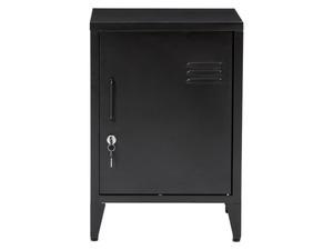 Livarno Home Metallspind klein mit einer Tür schwarz Glasgow
