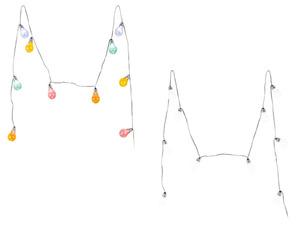 MELINERA® LED Sommerlichterkette Glühbirne