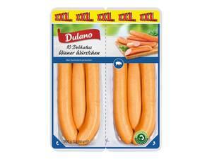Dulano Delikatess Wiener Würstchen XXL