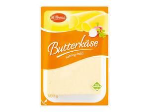 Milbona Butterkäse, in Scheiben