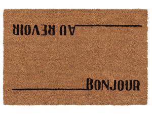 FLORABEST Schmutzfangmatte Kokos, bedruckt, 40 x 60 cm