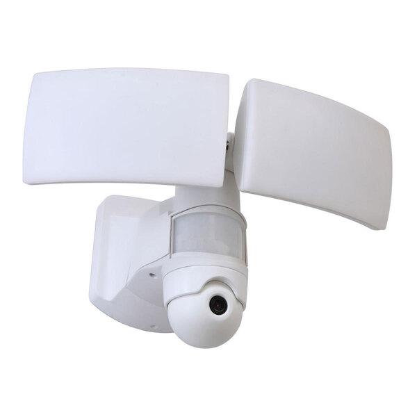 "Lutec              LED-Kameraleuchte ""Libra"", Weiß"