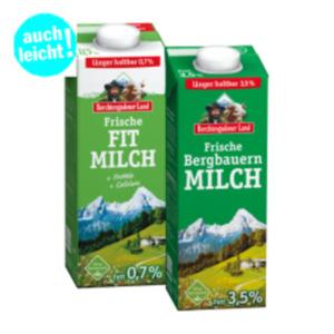 Berchtesgadener Land Frische Bergbauern- oder Fit-Milch