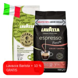 Lavazza Tierra Organic, Barista oder Qualita rossa