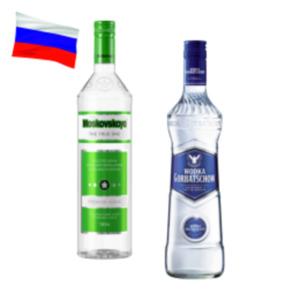 Wodka Gorbatschow, Puschkin oder Moskovskaya Vodka