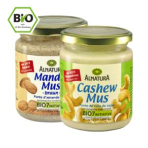 Alnatura Cashew-, Mandel oder Haselnussmus