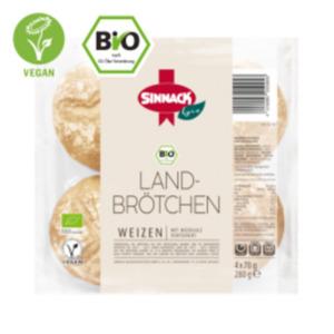 Sinnack Bio Landbrötchen