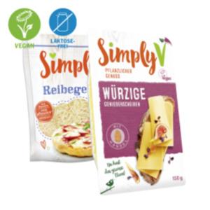 SimplyV Vegane Produkte
