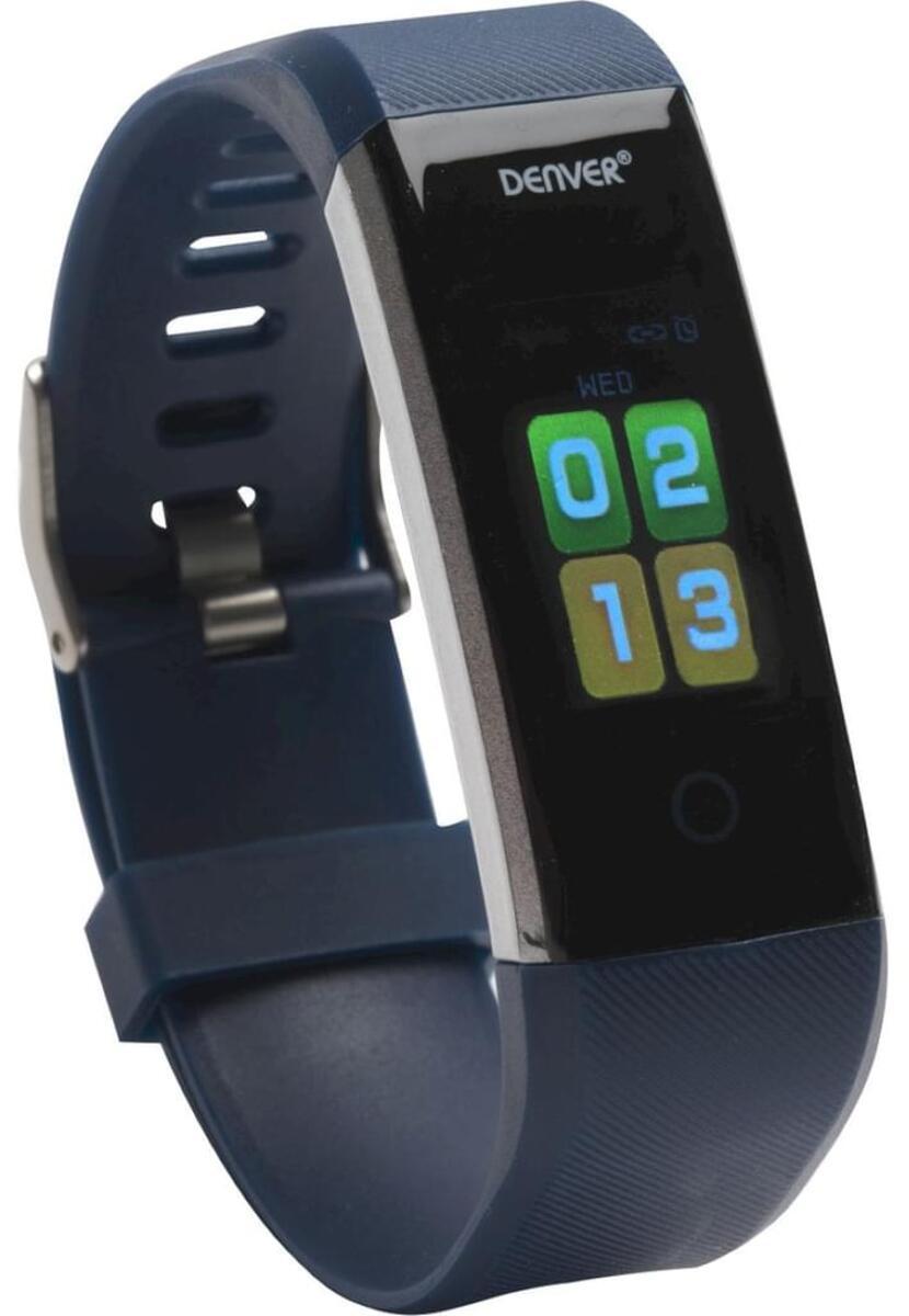 Bild 2 von Denver BFH-16 Fitnessband, Activity Tracker, (2,44 cm/0,96 Zoll), Onesize, blau
