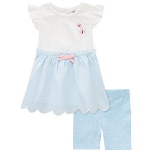 Newborn Kleid und Radler im Set