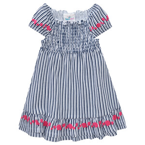 Baby Kleid im gestreiftem Dessin