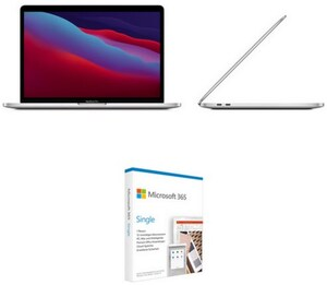 "MacBook Pro 13"" (MYDA2D/A) 33,78 cm (13,3"") silber inkl. 365 Single FPP"