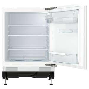 SMÅFRUSEN Unterbaukühlschrank, IKEA 500 integriert/weiß