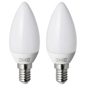 RYET LED-Leuchtmittel E14 250 lm, kerzenförmig opalweiß