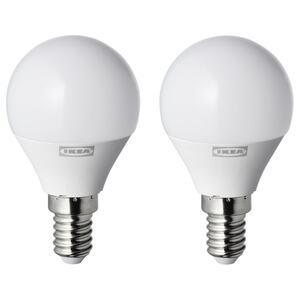 RYET LED-Leuchtmittel E14 250 lm, rund opalweiß