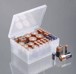 Batterien-Aufbewahrungs-Box, Transparent