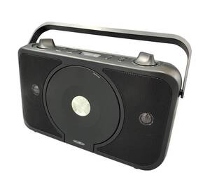 Vertikale Boombox mit CD und AUX-IN