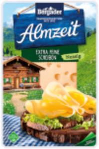 Bergader Almzeit oder Bergbauern-Käse