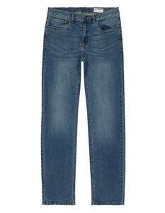 Herren Relax Fit Jeans im Stone Washed Look