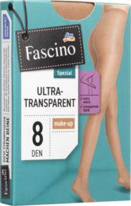 Fascino Strumpfhose ultra transparent 8 den, Gr. 46/48, make-up