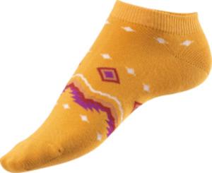 Fascino Sneaker im Ethno Design, Gr. 35-38, gelb