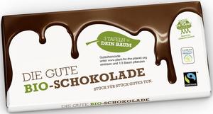 Plant for the Planet Die Gute Bio-Schokolade 100G