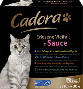 Cadora Erlesene Vielfalt in Sauce 8x 85g