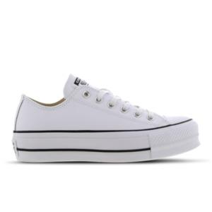 Converse Chuck Taylor All Star Platform Low Leather - Damen Schuhe