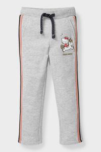 C&A Hello Kitty-Jogginghose, Grau, Größe: 92