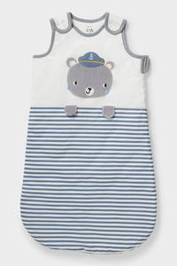 C&A Baby-Schlafsack-Bio-Baumwolle, Weiß, Größe: 90 cm