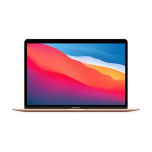 Apple MacBook Air (M1, 2020) CZ12A-0010 Gold Apple M1 Chip mit 7-Core GPU, 8GB RAM, 512GB SSD, macOS - 2020