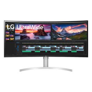 LG 38WN95C-W - 95cm (38 Zoll), LED, Curved, IPS-Panel, UWQHD+, 1ms, AMD FreeSync, Höhenverstellung, DisplayPort