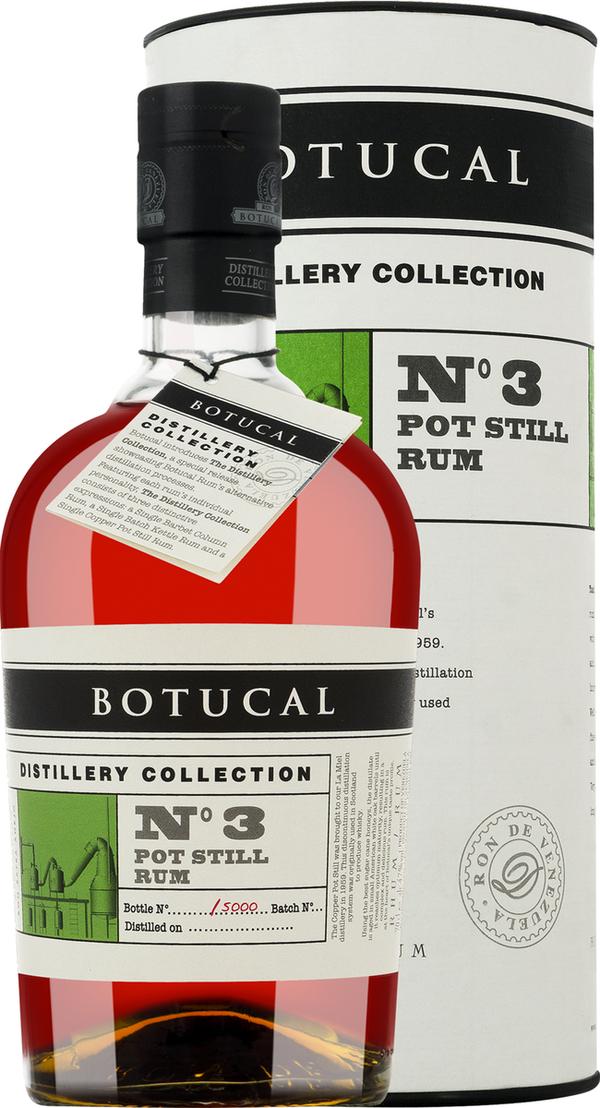 Botucal Tdc No. 3 Pot Still in Gp   - Rum - Destilerias Unidas, Venezuela, trocken, 0,7l