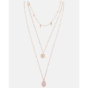 Halskette mit Halbedelstein